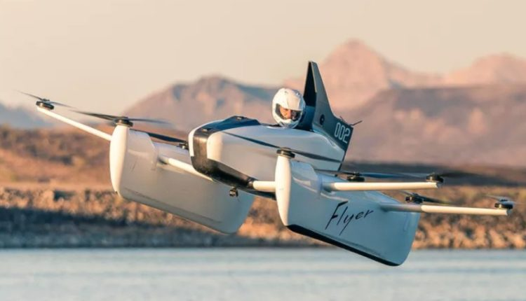 Kitty Hawk flyer auto volador