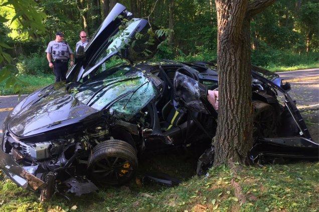 destrozo su McLaren / Fuente: Twitter @Autotestdrivers