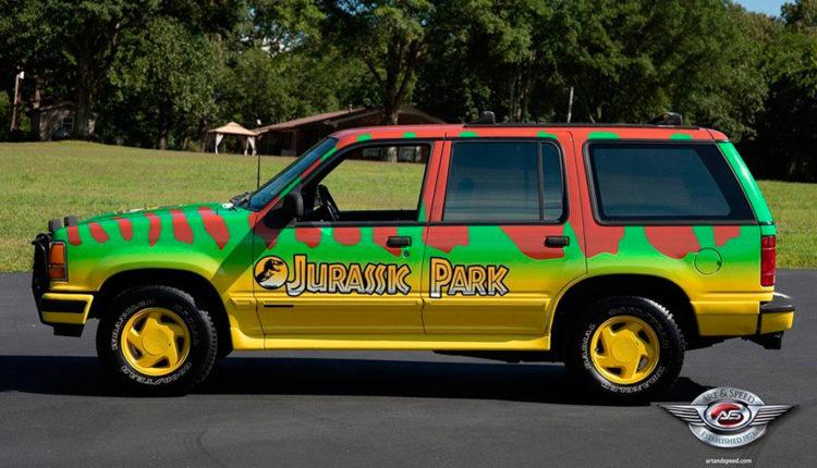 Jurassic Park / Fuente: Art & Speed