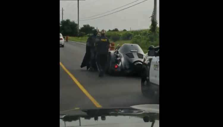 Batman/ Fuente: Youtube Car Crashes & Music