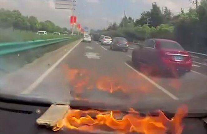 iphone explota en tablero automovil