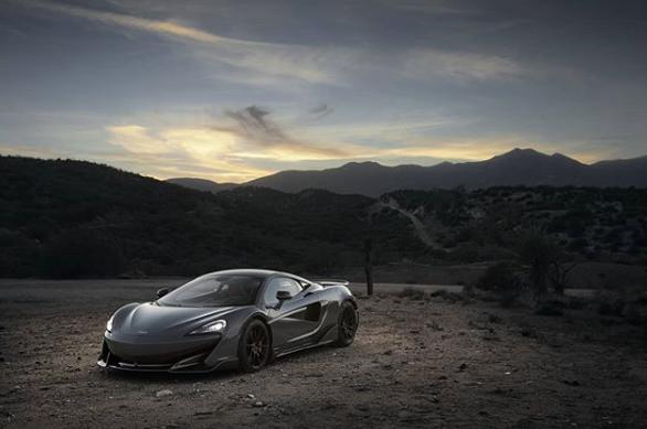Imagen ilustrativa/ McLaren destrozado/ Fuente: Instagram @mclarenauto