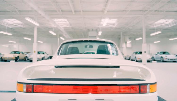 Así luce la belleza de 65 Porsche blancos reunidos en una colección privada