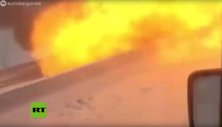 auto explota explosión rusia