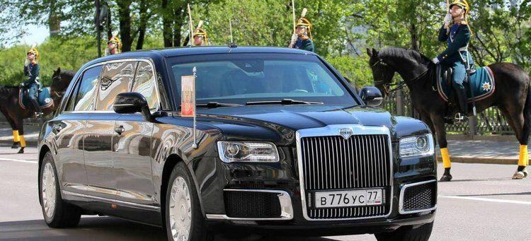 Limosina Aurus Putin