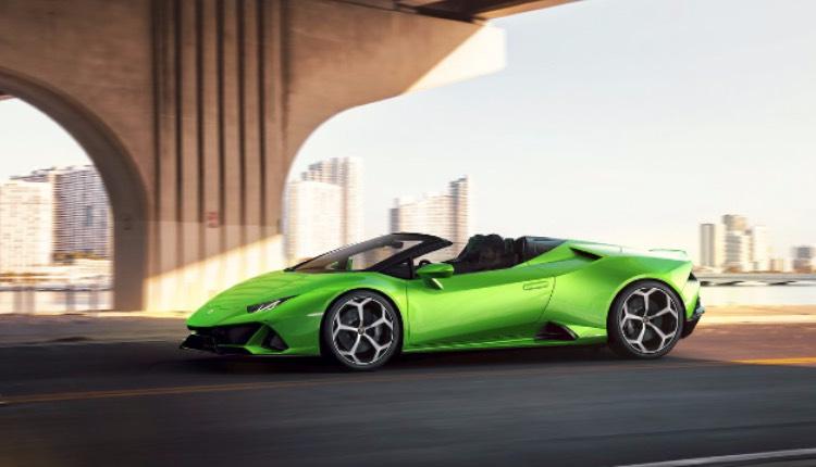 Conoce el Lamborghini Huracan EVO Spyder