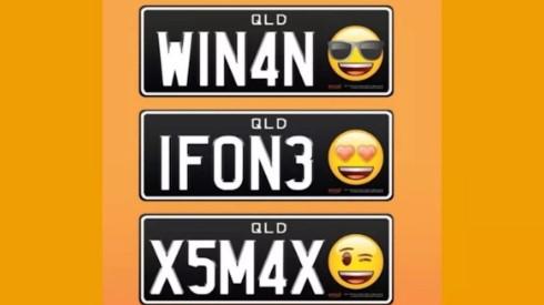 placas de emoji