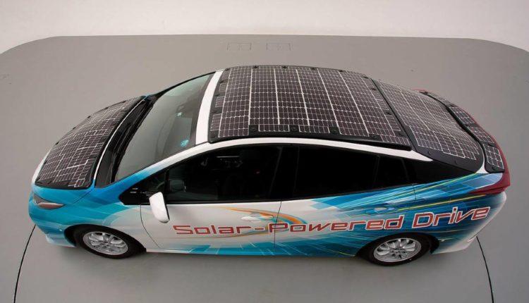 prius paneles solares