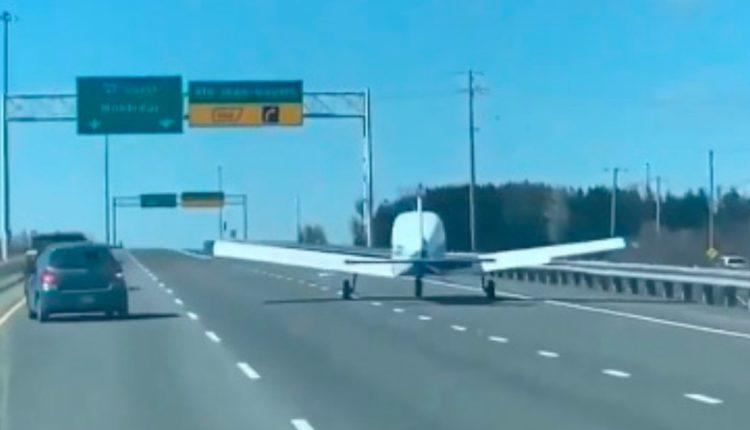 avioneta aterrizaje quebec