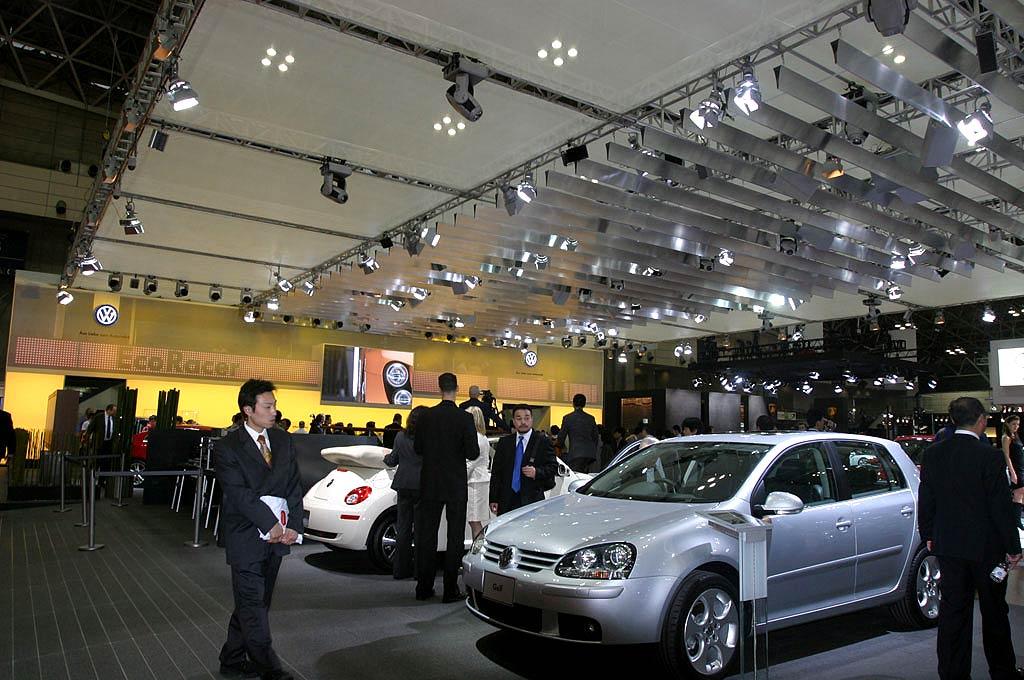 Salón del automóvil de Tokyo.